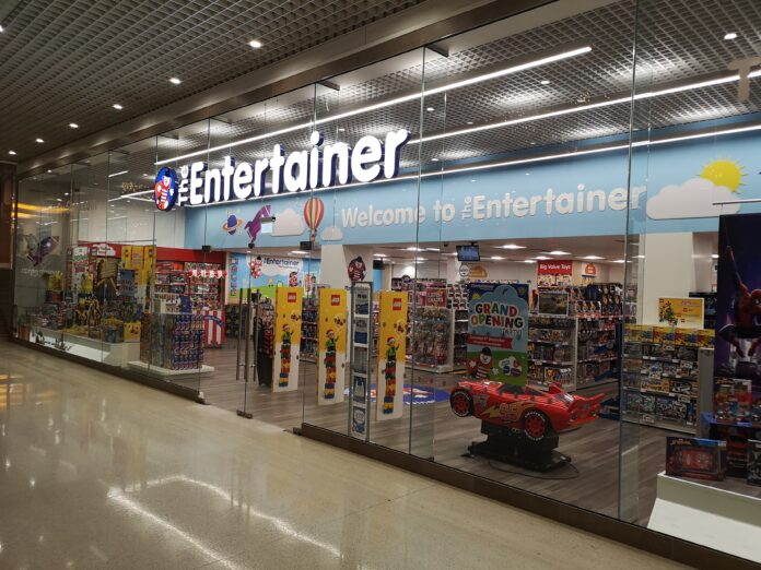 The Entertainer reveals plans for re-opening