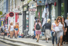 Footfall spikes by a third over bank holiday weekend