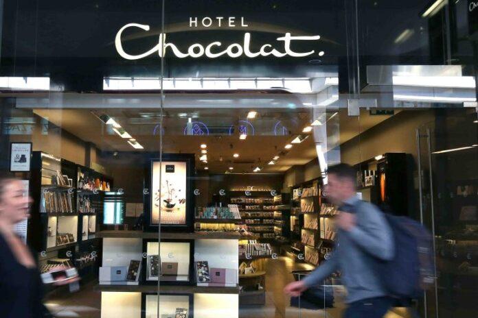 Hotel Chocolat store reopening Angus Thirlwell covid-19