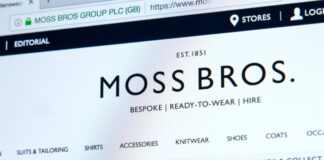 Moss Bros website reopening covid-19 lockdown