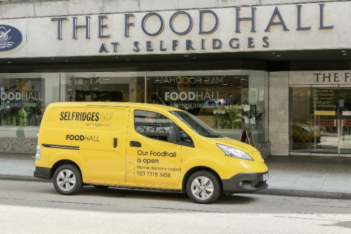 Selfridges reopens London food hall