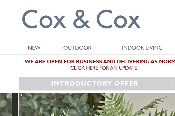 Lockdown boosts Cox & Cox's soaring full year sales