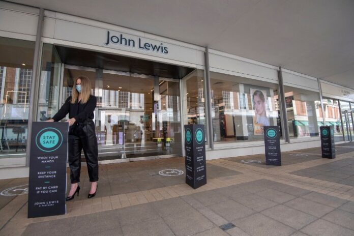 John Lewis reveals stores to reopen in new details on lockdown exit plan