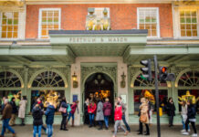 Fortnum & Mason reopening food hall covid-19 lockdown