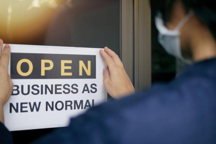 Store reopenings covid-19 lockdown pandemic EU social distancing
