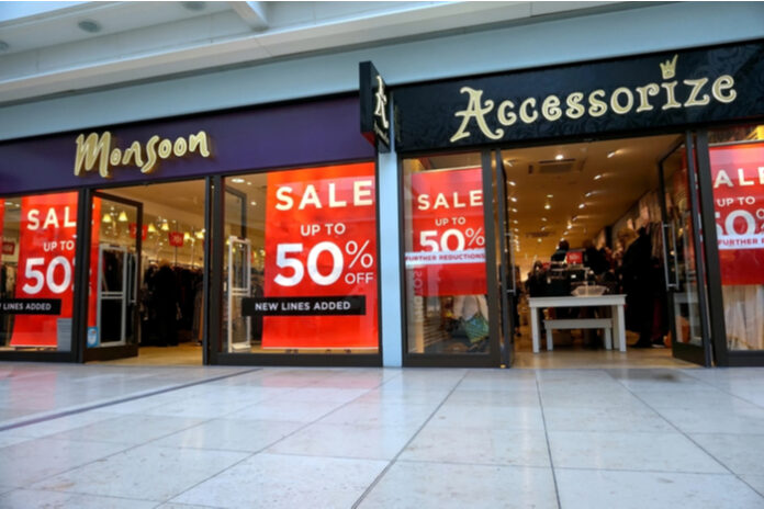3500 jobs at risk with Monsoon Accessorize on brink of administration