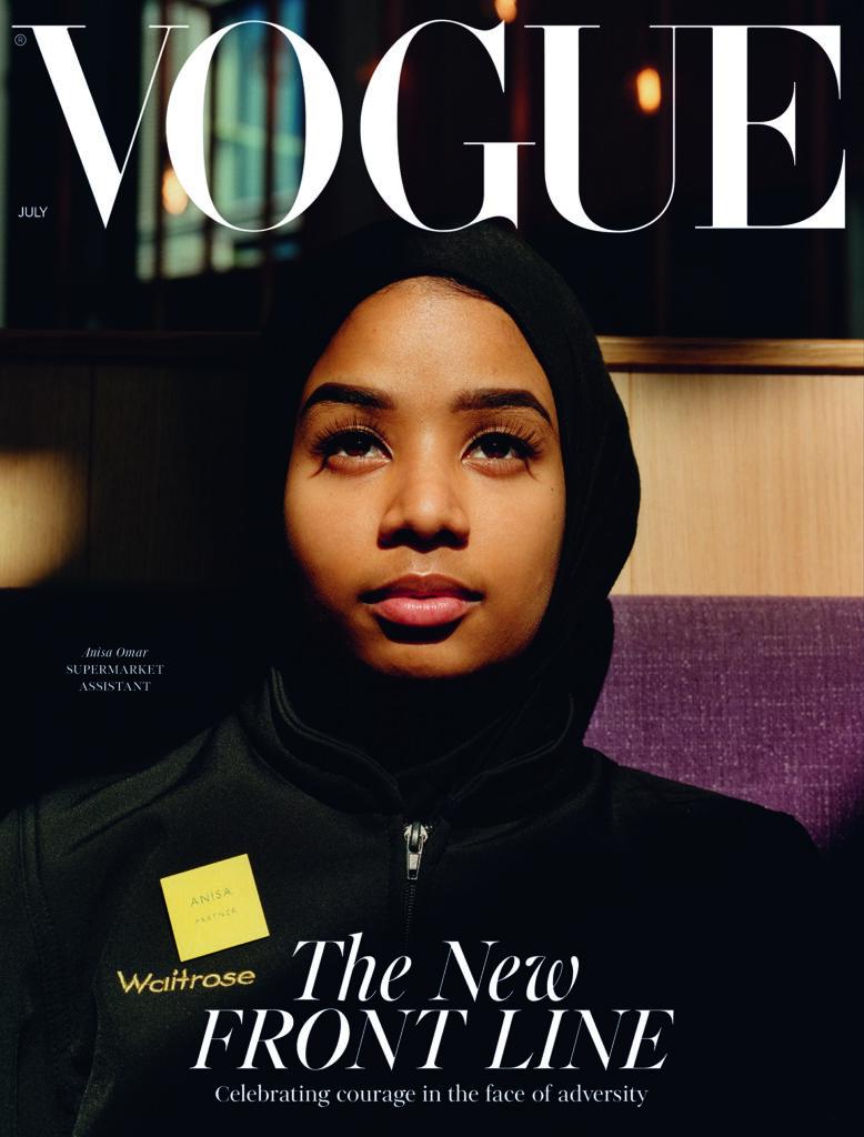 Retail Gazette Loves: Waitrose cashier becomes a Vogue cover star
