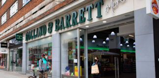Holland & Barrett announces Deliveroo tie-up