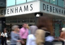 Debenhams to reopen in 3 stores in Northern Ireland before England