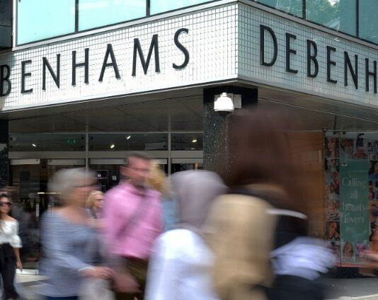 Debenhams to reopen in 3 stores in Northern Ireland before England