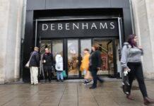 Debenhams Steven Cook reopening