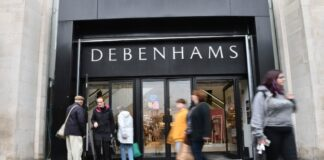 Debenhams reopens another 38 stores after initial 50 yesterday