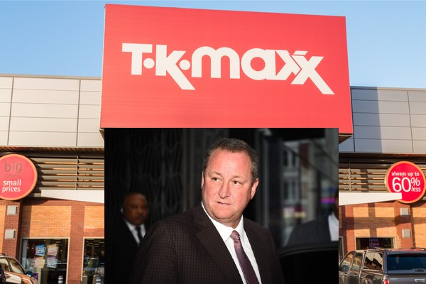 Mike Ashley locked in name row with TK Maxx