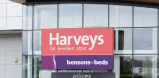 Harveys furniture chain Bensons for Beds administration