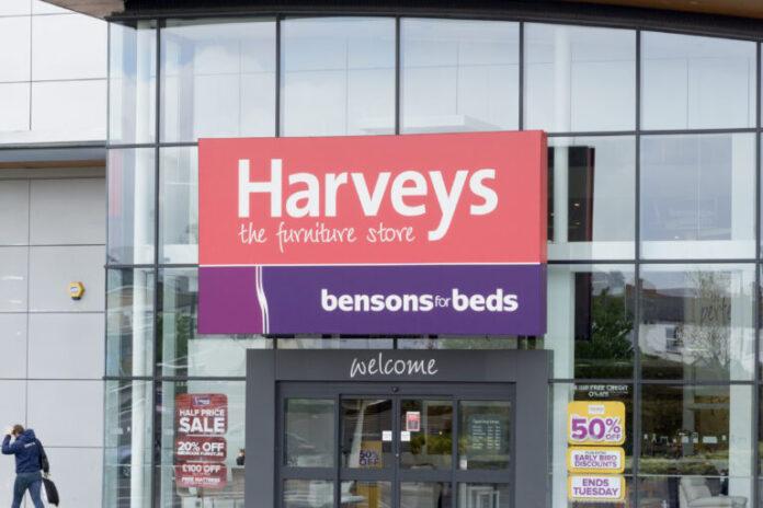 Harveys furniture chain Bensons for Beds administration