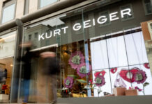 Kurt Geiger to donate first month of all store profits to the NHS