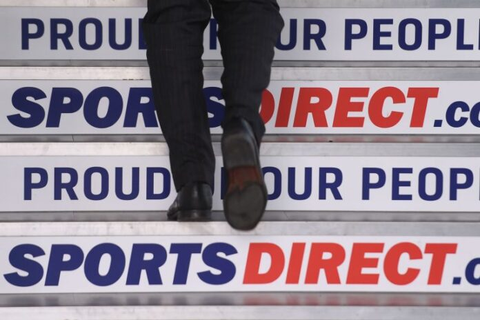 Sports Direct Chris Wootton covid-19 mike ashley lockdown