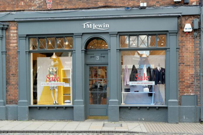 TM Lewin's new owner eyes sweeping store closures via pre-pack deal