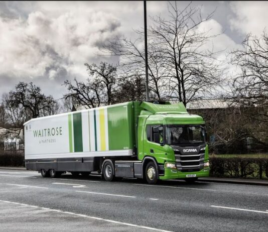John Lewis Partnership to stop using fossil fuels across transport fleet by 2030