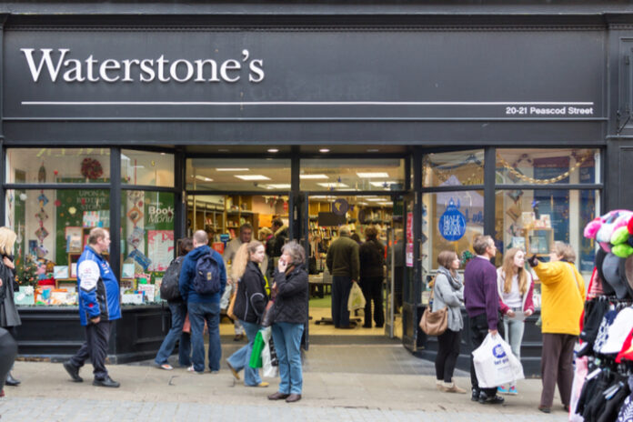 HMV owner: Waterstones quarantining books