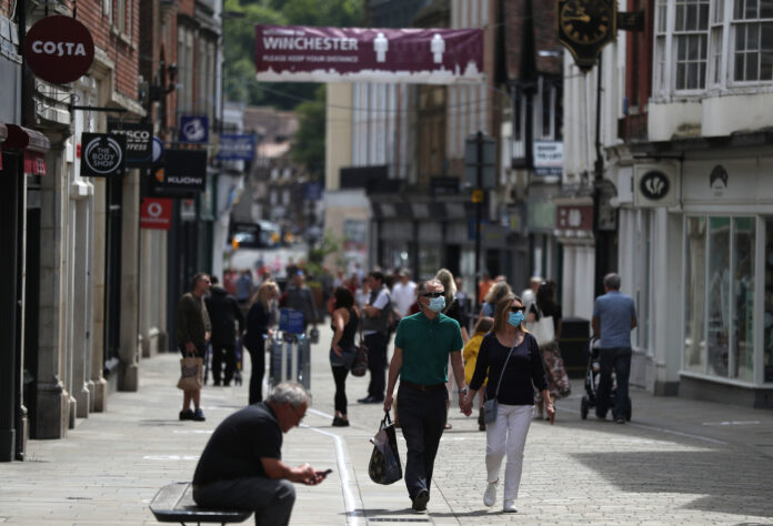 Footfall still low in June despite retail lockdown exit