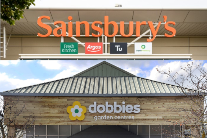 Dobbies & Sainsbury's launch grocery partnership