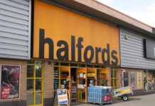 Halfords COVID-19 lockdown reopening trading update Graham Stapleton