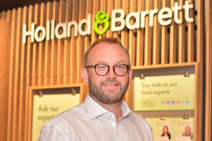 Tony Buffin Holland & Barrett CEO profile big interview
