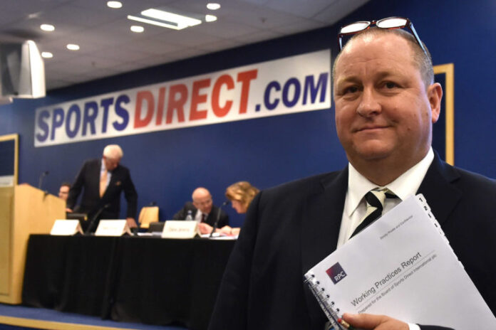 Frasers Group Sports Direct House of Fraser Mike Ashley
