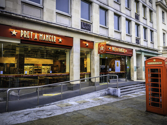 1000 high street jobs at risk as Pret a Manger shuts down 30 stores