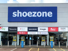 Shoe Zone opens 50th out-of-town concept store in Cardiff