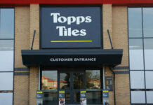 Topps Tiles trading update covid-19 lockdown