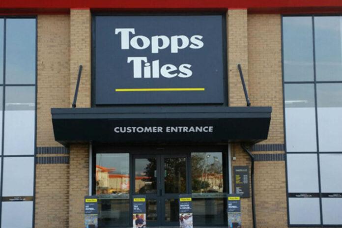 Topps Tiles trading update covid-19 lockdown