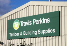 Travis Perkins half year sales drop 20%