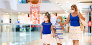 Slight dip in footfall as face coverings become mandatory