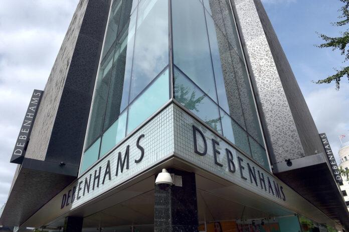 Debenhams owner on brink of administration