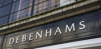 Debenhams business rates
