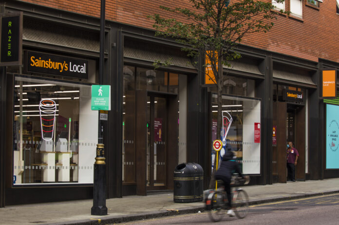 Sainsbury's opens its most central London store