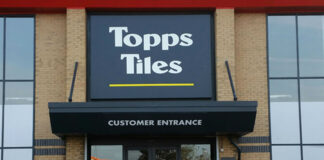 Topps Tiles enjoys 15.5% like-for-likes increase in final quarter