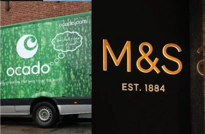 Marks and Spencer M&S Ocado