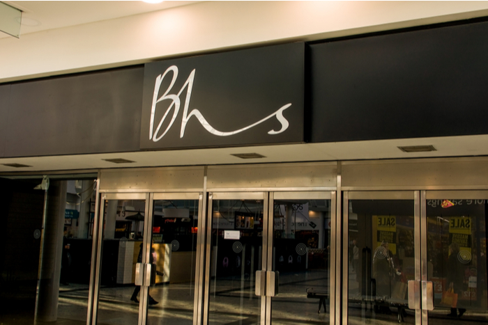 BHS Philip Green Topshop Arcadia store vacancy Dominic Chappell Local Data Company