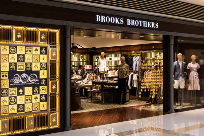 Brooks Brothers Authentic Brands Simon Property bankruptcy