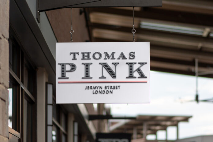 Thomas Pink flagship lockdown covid-19