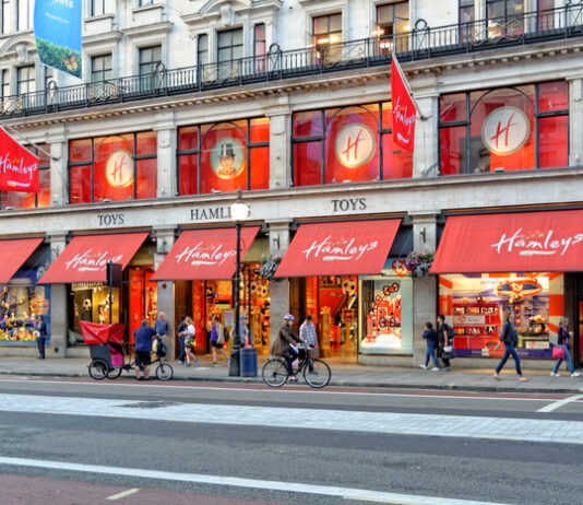 Hamleys opens the doors to its new state-of-the-art console, PC and gaming accessories department in its Regent Street store in London.