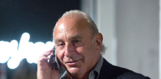 Sir Philip Green Burton Arcadia Group