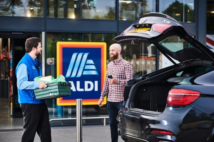 Aldi click-and-collect Giles Hurley