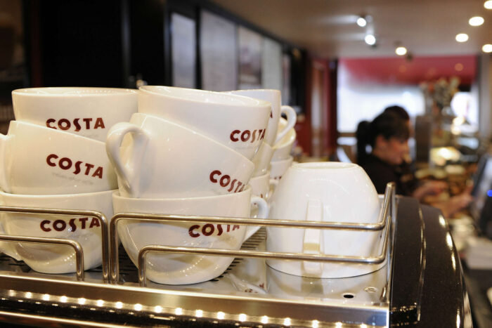 1650 high street jobs at risk at Costa Coffee