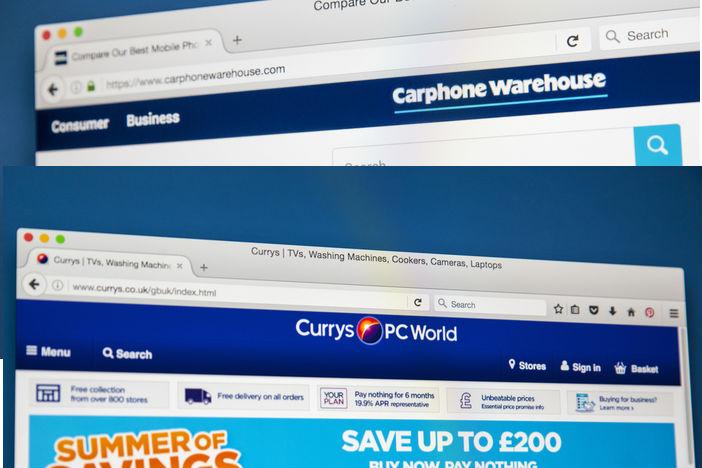 Lockdown prompts Dixons Carphone's online sales to triple
