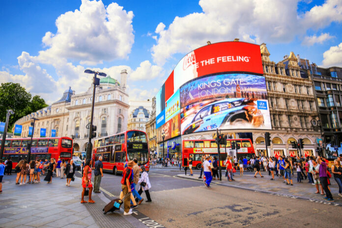 Footfall in London's West End remains stubbornly low