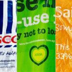Tesco Sainsbury's Asda Morrisons Covid-19 pandemic lockdown store closures PPE stockpiling panic buying